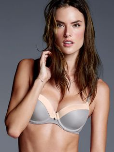 Demi Bra - Fabulous by Victoria's Secret - Silvermoon Colorblock Mesh - Victoria's Secret - $55
