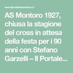 AS Montoro 1927, chiusa la stagione del cross in attesa della festa per i 90 anni con Stefano Garzelli – Il Portale Del Ciclismo