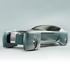 Ljót frambretti. Rolls-Royce has designed its first ever concept car, billed as a vision for a future of driverless luxury vehicles