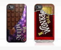 12 Capinhas Iphone Chocolate Fantastica Fabrica Willy Wonka Cases