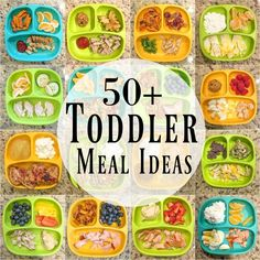 Need some healthy toddler meal ideas? Here are 50 kid-friendly ideas for breakfa… Need some healthy toddler meal ideas? Here are 50 kid-friendly ideas for breakfast, lunch Healthy Toddler Meals, Healthy Kids, Kids Meals, Healthy Snacks, Toddler Food, Healthy Lunch For Toddlers, Toddler Breakfast Ideas, Easy Toddler Lunches, Toddler Dinners