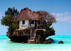 Tanzania - The Rock Restaurant, Zanzibar