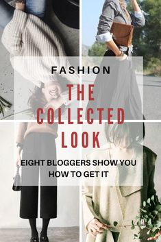 The Collected Look -Style Tips From 8 Bloggers - Northern California Style