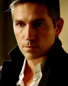 a little gray at the temples . . . Jim Caviezel in Person of Interest