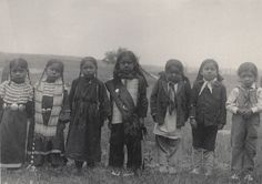 Seven little Sioux Indians: Children of uneducated parents Frances Benjamin Johnston (American, 1864–1952) 1899-1900. Platinum print MoMA