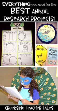 Have your first grade - fourth grade students research animals with this differentiated resource! Everything you need to create an animal wax museum!