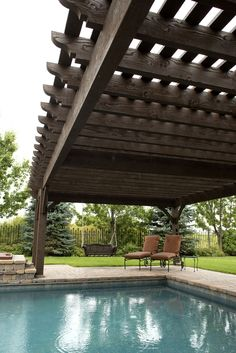 Free standing Western Timber Frame timber frame DIY ShadeScape™️ 8000 Series pergola kit installed over Diy Pergola, Pergola Cost, Timber Pergola, Pergola Decorations, Building A Pergola, Cheap Pergola, Outdoor Pergola, Pergola Shade, Outdoor Decor