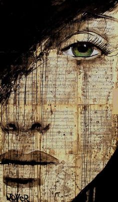 Fragile Melancholic Damsel Depictions - Loui Jover Illustrates Despondent Females on Vintage Books (GALLERY)