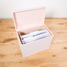 We bring to life elegant options for you to organize your personal space. From the storage of your jewelry to the long hours spent at your desk, we know it's important to be surrounded by things that make you feel your best. File Box Organization, Hanging File Organizer, Organizing Paperwork, File Organiser, Container Organization, Home Office Organization, Organization Hacks, Wood File, Work Cubicle