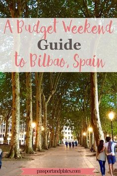 For a quirky and budget-friendly weekend in Spain, look no further than Bilbao! Check out the weekend guide to Bilbao!   http://passportandplates.com