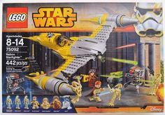 ef6fb57aaad8 LEGO Star Wars Naboo Starfighter 75092 Building Kit Own the Naboo  Starfighter set with opening cockpit, spring-loaded shooters, eject  function, ...