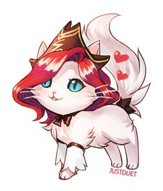 Miss Fortune cat, by JustDuet