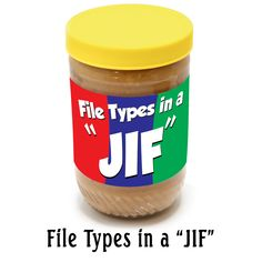Image File Types in JIF! Learn the difference between file extensions and their uses.