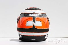 The helmet of Nico Hulkenberg, Sahara Force India F1   F1 photos   Main gallery   Motorsport.com