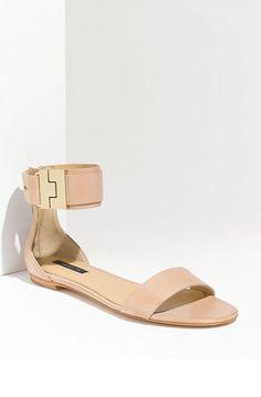 rachel zoe pastel blush sandals for spring #prettypastels