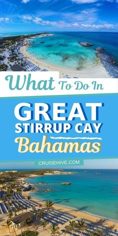 Things to know about Great Stirrup Cay in the Bahamas which is a private island destination for Norwegian Cruise Line (NCL). Bahamas Vacation, Bahamas Cruise, Cruise Port, Cruise Travel, Caribbean Cruise, Cruise Vacation, Vacation Trips, Vacation Deals, Italy Vacation