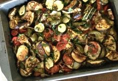 Görög Briam | NOSALTY Briam, Falafel, Vegetable Recipes, Sprouts, Feta, Vegetables, Bors, Red Peppers, Falafels