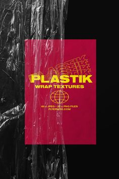 If you want to use the power of plastic to help create something truly artistic, then you need to be able to use our new Plastic wrap textures package. Gfx Design, Design Logo, Graphic Design Layouts, Graphic Design Posters, Graphic Design Typography, Graphic Design Illustration, Graphic Design Inspiration, Layout Design, Retro Graphic Design