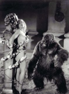 The Sign of the Cross (1932), in which Cecil B. DeMille re-created in sadistic detail the excesses of the mountain gorilla culture.