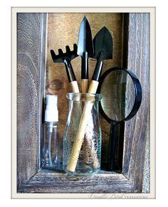 NEEEEEEEED!!!! Terrarium Tools Set / Complete Supplies Kit for by DoodleBirdie, $25.00