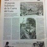 Página de la sección Ecoperiodismo publicada hoy en El Correo de Andalucía