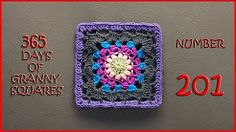 (10) 365 days of granny squares 201 - YouTube