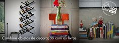 Já pensou em como organizar seus livros?