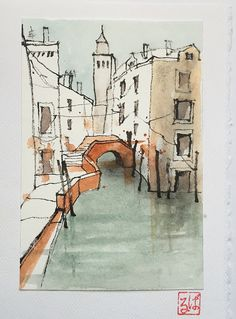 Finished Venice postcard | Barbara Luel | Flickr