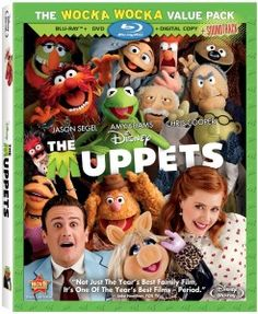 The Muppets (Two-Disc Blu-ray/DVD Combo) - - Muppet domination continues with a hilarious new movie from Walt Disney Studios. Jason Segel, Academy Award(R) nominee Amy Adams (Best Performance By An Ac New Movies, Disney Movies, Good Movies, Movies And Tv Shows, Awesome Movies, Watch Movies, 2011 Movies, Movies Free, Movies 2019