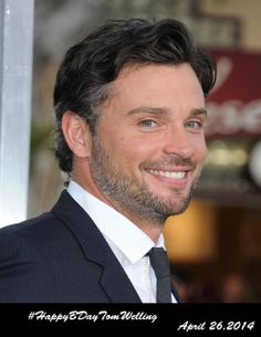 We want to celebrate Tom Welling's Birthday.  Join us on a Twitter Trending Event: April 26th 2014.  Just Add #HappyBDayTomWelling to your tweets!!!