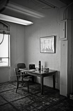 Guard Dining Area In Alcatraz Prison Photograph. By RicardMN Photography