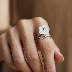 Princess Kylie 925 Sterling Silver Simple Branching Tree of Life Designer Ring