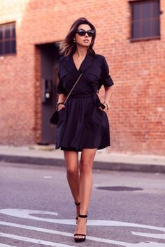 Nice 85 Cool All Black Outfits for Women from https://www.fashionetter.com/2017/07/18/85-cool-black-outfits-women/