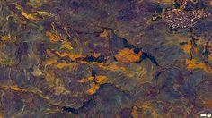 Заливні рисові поля-тераси, Юньнань, Китай. Вражаючі супутникові знімки про те, як ми змінили Землю