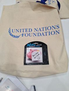 Now find us in the UN gifting bags too
