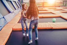 Top Jump in Pigeon Forge is an indoor trampoline park featuring numerous fun trampolines, obstacles and activities. Pigeon Forge Cabin Rentals, Gatlinburg Cabin Rentals, Backyard Trampoline, Backyard Fences, Trampoline Ideas, Backyard Ideas, Rectangle Trampoline, Pigeon Forge Attractions, Indoor Attractions