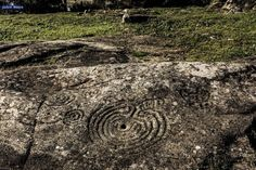 Bronce final. Petroglifos de Mogor, en Marín. Pontevedra
