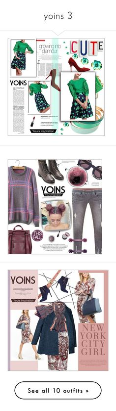 """""""yoins 3"""" by meyli-meyli ❤ liked on Polyvore featuring Boutique Moschino, MAC Cosmetics, women's clothing, women's fashion, women, female, woman, misses, juniors and yoins"""
