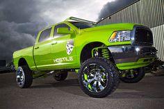 Green Dodge Ram