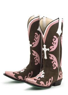 """Cowgirl Boots! Be sure to visit us online! www.cowgirlclad.com """"Like"""" us on Facebook!! http://www.facebook.com/#!/pages/Cowgirl-Clad-Company/131902860154269"""