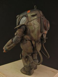 "P.K.A. HO/G (Gustav Trans Suit) ""Faustdick Spaß"", NITTO Ma.K. 1/20 scale P.K.A. H remodeled. By Jsan9. #Ma_K #Maschinen_Krieger #SF3D"