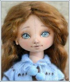 Мастер-класс. Как нарисовать лицо куколке http://poleevaav.ru/igrushki-svoimi-rukami/kak-narisovat-lico-kukle.html