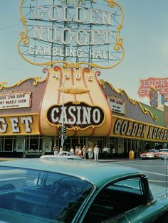 Golden Nugget. Las Vegas, early 1962.You can get Real casino Chips from here at www.all-chips.com