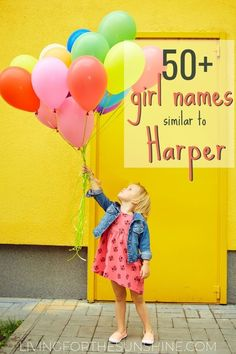 Are you looking for a girl name similar to Harper? This list of adorable girl names that are similar to Harper, but slightly different. My hope is that this list will help you find your perfect baby name! #harper #names #babynames #girlnames Baby Girl Names List, List Of Girls Names, Cute Baby Names, Boy Names, Baby Girls, Lovely Girl Names, Unique Girl Names, Pretty Names, Traditional Girl Names