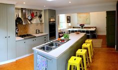 The kitchen is fully equipped for all your cooking needs