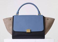 Celine-Tricolor-Medium-Trapeze-Bag Celine Trapeze Bag 2a245795ba76c