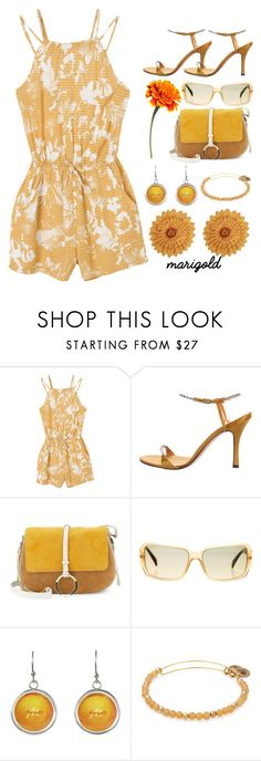 """""""MARIGOLD CONTEST"""" by vjerph ❤ liked on Polyvore featuring RVCA, René Caovilla, Halston Heritage and Chanel"""