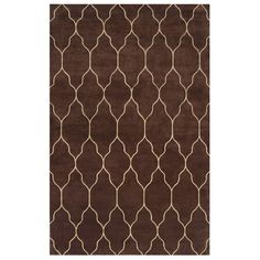 I pinned this Gates Rug in Chocolate from the Bedroom Essentials event at Joss and Main!