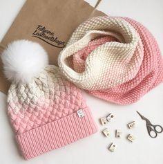 Knitted Headband, Knitted Gloves, Knitted Bags, Knitting For Kids, Loom Knitting, Baby Knitting, Crochet Girls, Knit Crochet, Crochet Hats