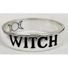 Spell of the Witch ☽✪☾ This is a simple spell designed to charge a ring that will serve as protection.